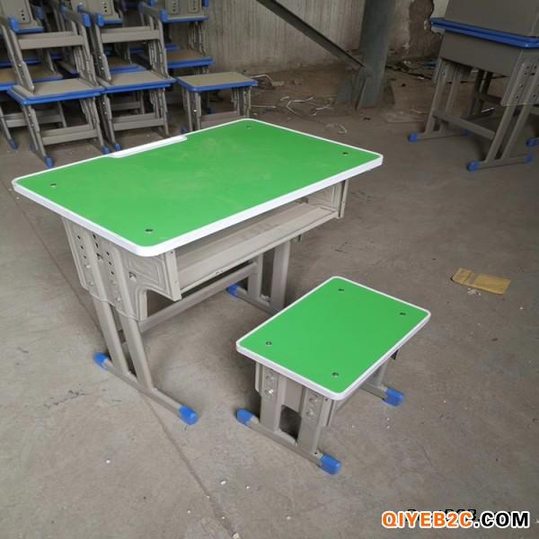 南阳固定课桌凳 双人课桌凳
