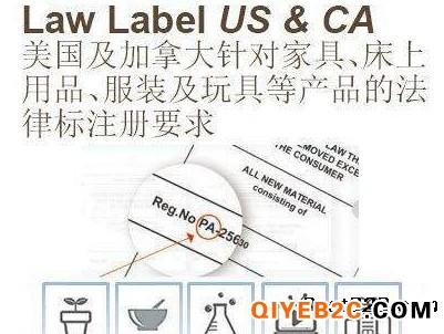 提供躺椅做美国law label注册