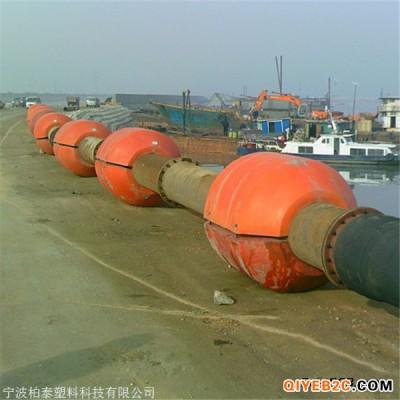水库清淤工程管道浮筒 大浮力塑料管道浮体