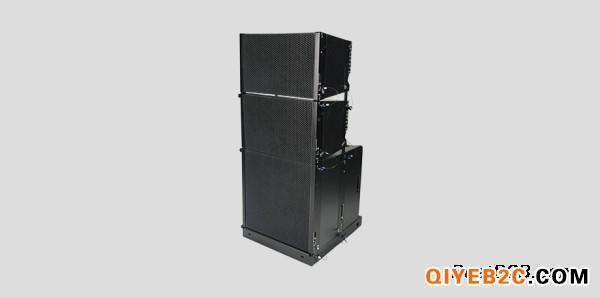 演出音响系统搭建Dante有源线阵单12超低频音箱