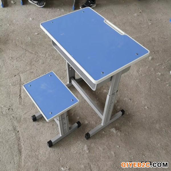 新乡单人固定课桌凳 双人学生课桌凳