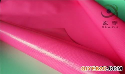 广东现货供应500D箱包布 PVC夹网布 防水包面