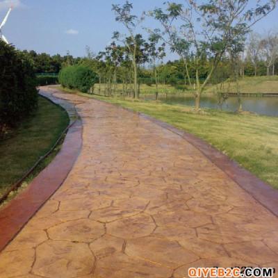 广州压花地坪材料生产供应 混凝土压膜地坪专业施工