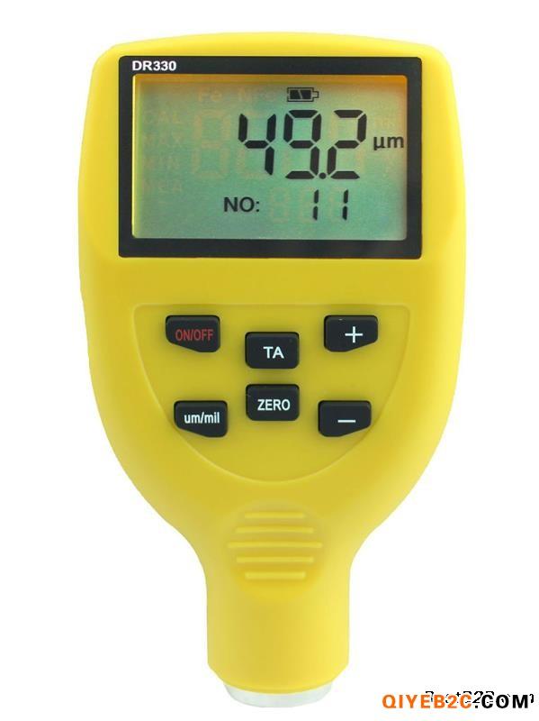 供应国产高精度漆膜仪DR330 汽车油漆厚度检测仪