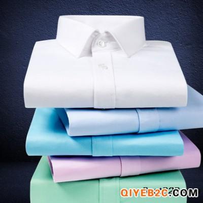 南昌夏季薄款工作服免烫易打理棉短袖衬衫职业套装定制