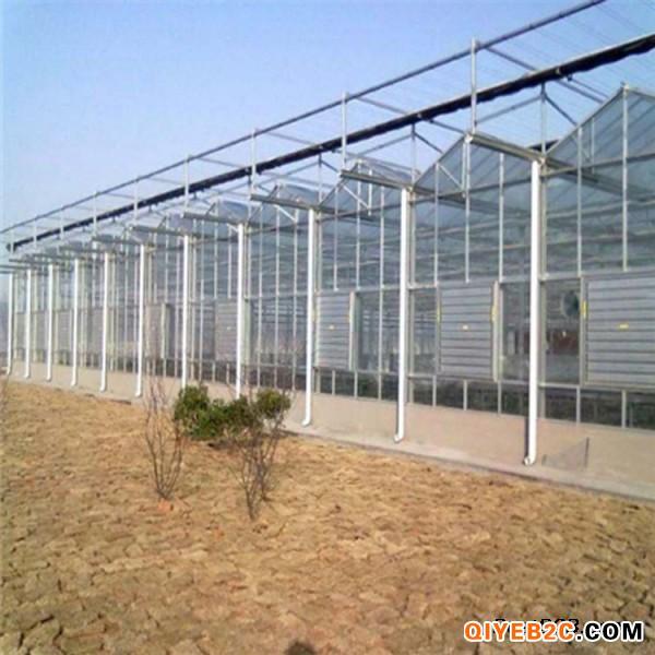 温室大棚骨架 阳光玻璃大棚 花卉大棚 连栋温室