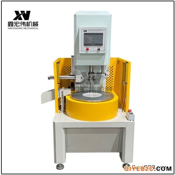 6工位5吨转盘油压机鑫宏伟非标定制小型多工位油压机