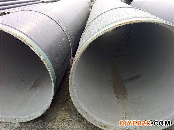 市政污水管道外环氧煤沥青两布三油内水泥砂浆防腐钢管